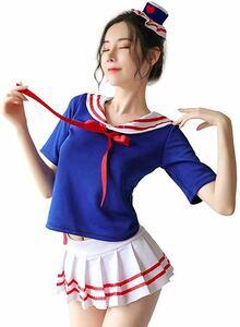コスプレ セクシー セーラー服 半袖 制服 女子制服 高校生 学生 女子高生 エロ 可愛い コスプレ コスチューム ミニスカート
