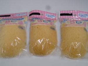 [KCM] BBY-88-3S ★ new article unused ★ Soft body sponge OBS 3 set baby goods