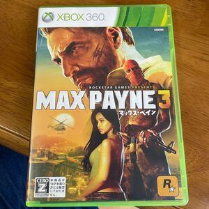【Xbox360】 マックス・ペイン3
