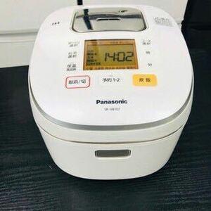 Panasonic 2018年製 5.5合 IHジャー炊飯器 パナソニック
