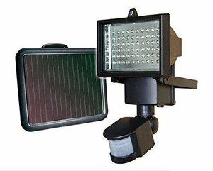 LED60灯人感センサーライト/ソーラーパネル