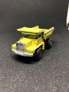 トミカ ダンプ MATCHBOX マッチボックス LESNEY DUMP TRUCK ダンプ イングランド製 ミニカー 黄色 イエロー 激レア