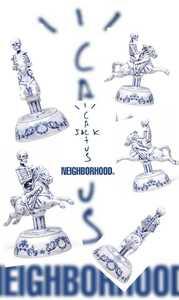 【送料無料】NEIGHBORHOOD CACTUS JACK INCENSE CHAMBER ネイバーフッド Travis Scott トラヴィス スコット お香立て