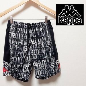 Kappa メンズ Sサイズ カッパ ハーフ ショート パンツ 総柄 スポーツ トレーニング ランニング
