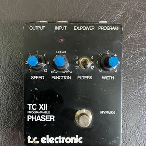 tc xII programmable phaser ケーブル付き