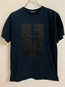 UNDERCOVER アンダーカバー MADSTORE メンズUロゴプリント 半袖Tシャツ Mサイズ