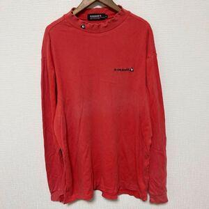lecoqsportif ルコックスポルティフ ゴルフ 長袖Tシャツ コットン 綿 LLサイズ 色あせあり