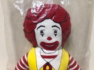 期間限定大幅値下げ! 即決【 80s デッドストック 】 マクドナルド ロナルド ドナルド ピロードール / クロスドール McDonalds 人形 / V12