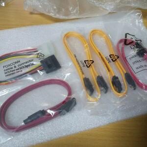 SATAケーブル(SATAコード) &電源変換ケーブル 合計5個