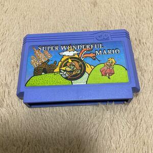 スーパーマリオ ファミコンソフト
