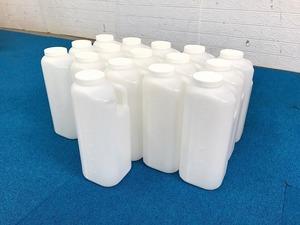【米軍放出品】保存容器 スクリューキャップ容器 16個 3000ml ボトル (160) ☆RE31XK-W