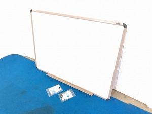 【米軍放出品】SKILCRAFT ホワイトボード 壁掛け W123cm×H92cm (240) ☆BF2DK-W