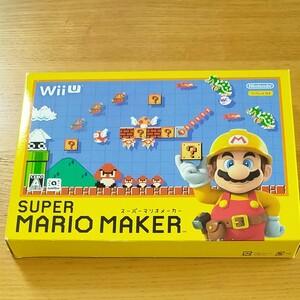 スーパーマリオメーカー WiiU SUPER MARIO MAKER WiiUソフト
