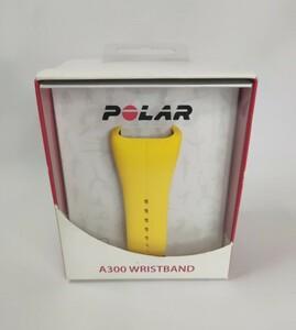 POLAR ポラール A300 替えバンド リストストラップ イエロー (A300 シリコン 交換用 ベルト)