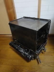 コールマン No.1ストーブ 1923~24年 希少 ツーバーナー オーブン用棚板、バッフルプレート有り 大変貴重です