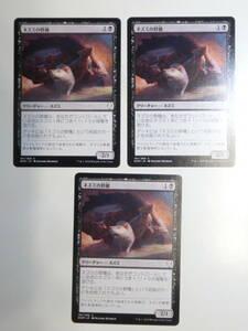 【MTG】ネズミの群棲 日本語3枚セット ドミナリア DOM コモン