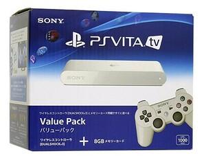【中古】PlayStation Vita TV バリューパック VTE-1000 AA01 元箱あり