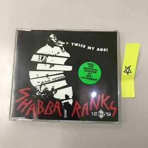 CD 輸入盤 中古【洋楽】長期保存品 SHABBA RANKS & KRYSTAL TWICE MY AGE