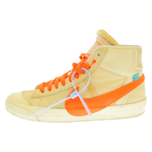 NIKE (ナイキ) ×OFF-WHITE THE:10 BLAZER MID ALL HALLOWS EVE オフホ