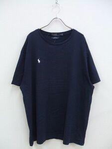 1-0507S♪Polo by RALPH LAUREN×BEAMS/ビームス別注Tシャツ/ネイビー/サイズXL/ラルフローレン/BCMF80563