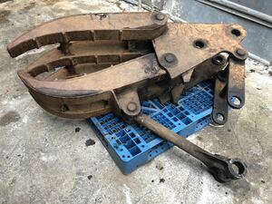 Fork tongs scissors construction machinery used Yumbo used