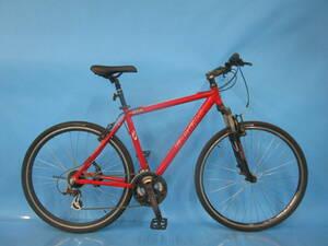 即決 ☆大阪西淀☆ TREK 7100 アルミフレーム クロスバイク 700C 外装21段変速 エアロリム シマノ トレック 中古 自転車 J64