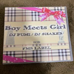 【DJ FUMI】Boy Meets Girl【DJ SHAKER】【廃盤】【R&B MIX CD】【豪華2枚組】【送料無料】
