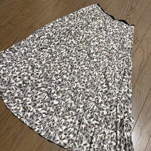 ロングスカート マキシ丈スカート プリーツスカート