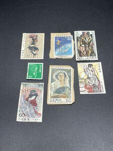 【2404】日本 切手 使用済 満月印 まとめ