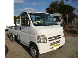 ホンダ アクティトラック 4WD HA7 エアコン付 H15年式 車検10月まであり ACTY 軽トラック 丸車