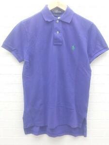 ◇ polo by ralph lauren ラルフローレン 半袖 ポロシャツ S パープル # 1002799493161