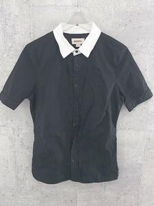 ◇ DIESEL ディーゼル 半袖 シャツ サイズXS ホワイト ブラック レディース 1002800318193