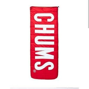 週末限定 500円オフ レア 新品未使用 CHUMS 寝袋 シュラフ ブービーバード