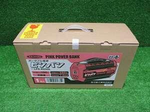 未使用品【NICHIDO/日動】LPE-R250L ポータブル電源 ピンバン