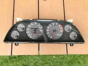 【希少】日産 純正 BNR32 R32 MT スカイライン GTR GT-R 純正 スピードメーター メーター