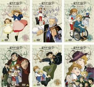 家なき子レミ 全6枚 第1話~第26話 レンタル落ち 全巻セット 中古 DVD