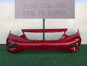GR6 GR8 フィット HEVクロスター フロントバンパー プレミアムクリスタルレッドメタリック R565M