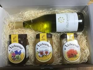 ニュージーランドナチュラル オーガニックワイン&ハニーギフトセット Limited Time !