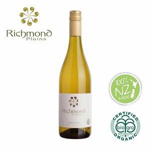 オーガニックワイン シャルドネ Chardonnay リッチモンドプレーンズ Richmond Plains ニュージーランド