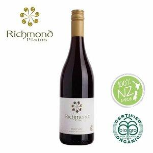 オーガニックワイン ピノ・ノワール Pinot Noir リッチモンドプレーンズ Richmond Plains ニュージーランド
