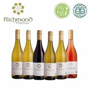 オーガニックワイン 6本セット リッチモンドプレーンズ Richmond Plains ニュージーランド