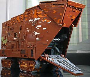 サンドクローラー 砂漠の惑星 巨大輸送車 ラジコン ブロック ミニフィグ レゴ 互換 LEGO 互換 テクニック フィギュア 13168pcs 171708