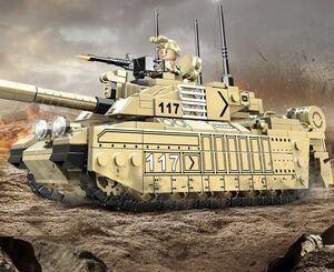 即納 チャレンジャーⅡ 主力戦車 ミニフィグ レゴ 互換 LEGO 互換 テクニック フィギュア 508pcs