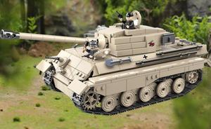 第二次世界大戦 ドイツ 重戦車 ティーガーII戦車 タンク ブロック ミニフィグ レゴ 互換 LEGO 互換 テクニック フィギュア 978pcs 181823