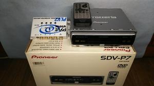 パイオニア カロッツェリア SDV-P7 DVDプレーヤー