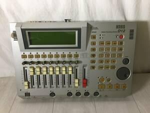 T2670*KORG/ Korg /Digital Recording Studio/ цифровой запись Studio / многоканальный магнитофон /D12[ не проверка ]