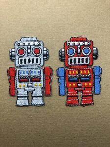 アイロンワッペンロボット2枚セット