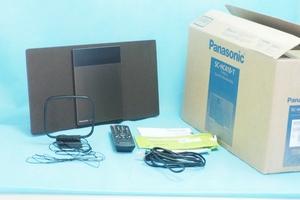160652273 【超美品】パナソニック ミニコンポ Bluetooth対応 ブラウン SC-HC410-T