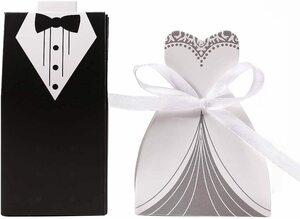 結婚式 用 ギフトボックス キャンディボックス 披露宴 ウェディング のお返し ラッピング 30個セット (CNPTEMP-006)