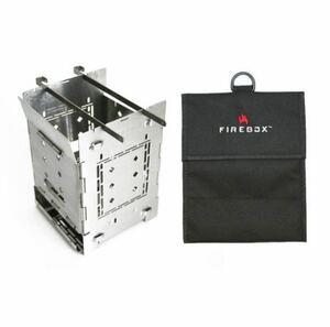 ファイヤーボックス FIREBOX STOVE バーベキュー コンロ G2 ストーブ本体+専用ケース